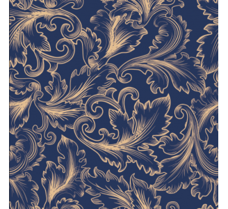 Baroque Removable Wallpaper pattern