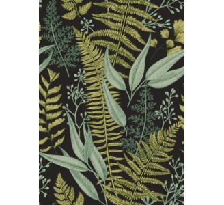 Dark Ferns Removable Wallpaper pattern