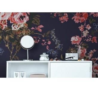 Pink Roses Removable Wallpaper