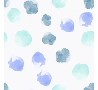 Watercolor Dots Removable Wallpaper pattern