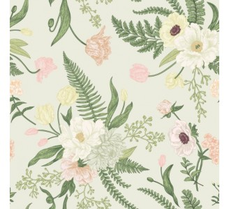 Spring flowers Removable Wallpaper pattern