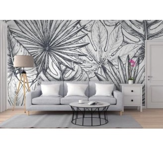 Tropical Plants Removable Wallpaper