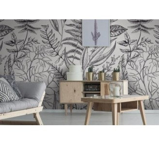 Botanical Vintage Removable Wallpaper