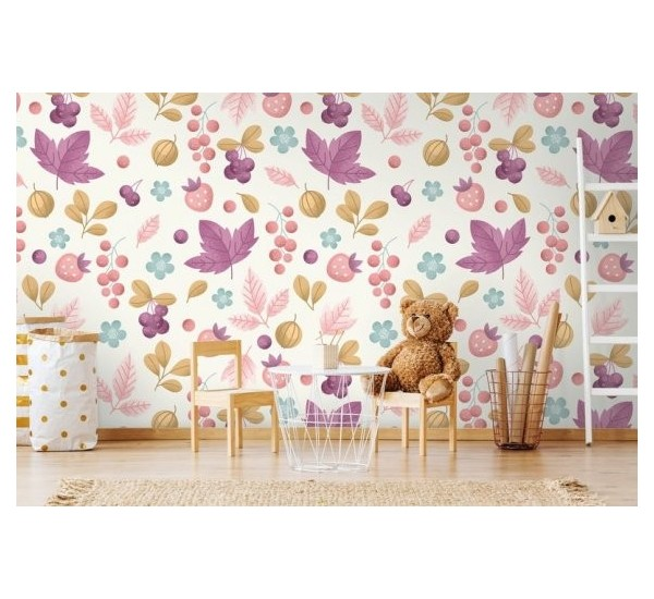 Gold Autumn Removable Wallpaper Wall2stick