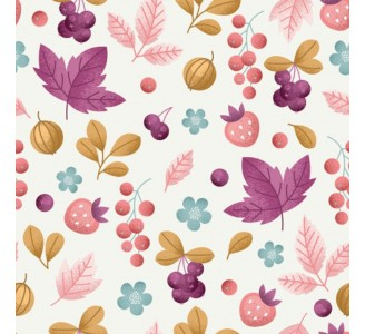 Gold Autumn Removable Wallpaper pattern