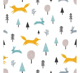 Forest Life Removable Wallpaper pattern