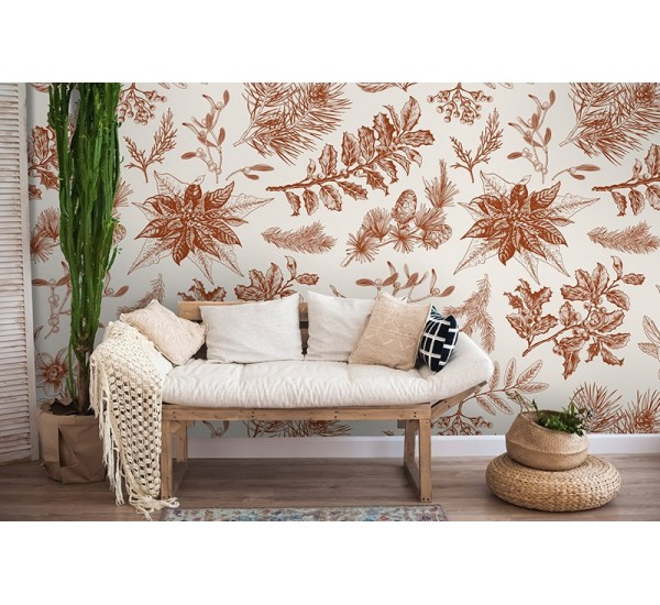 Forest Floral Removable Wallpaper