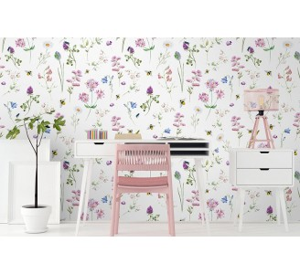 Spring Meadow Removable Wallpaper
