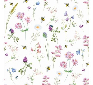 Spring Meadow Removable Wallpaper pattern