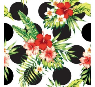Bouquet of Flowers Removable Wallpaper pattern