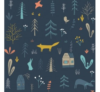 Forest Removable Wallpaper pattern