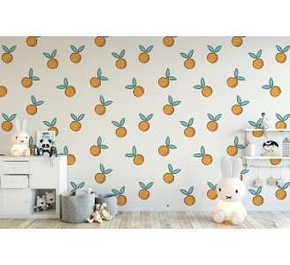 Oranges Removable Wallpaper