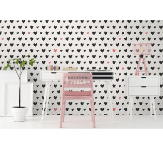 Oasis of Hearts Removable Wallpaper
