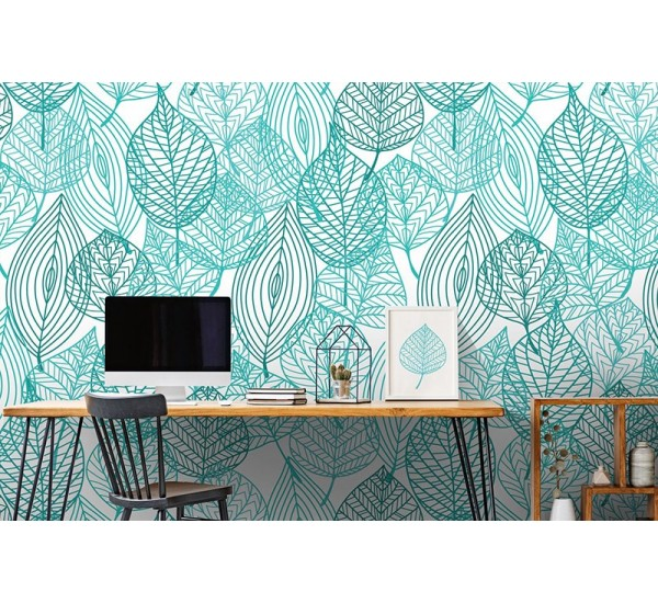 Green Chillout Removable Wallpaper
