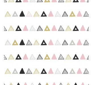 Aztec Triangles Removable Wallpaper pattern