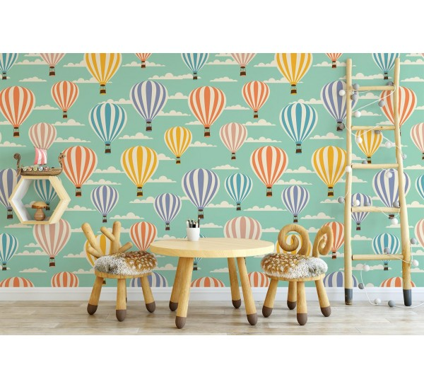 Happy Balloons Removable Wallpaper