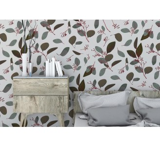 Seeded Branches Removable Wallpaper