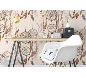 Bohemian Dreamcatchers Removable Wallpaper