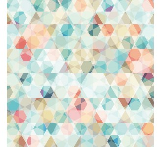 Colorful Cubes Removable Wallpaper pattern