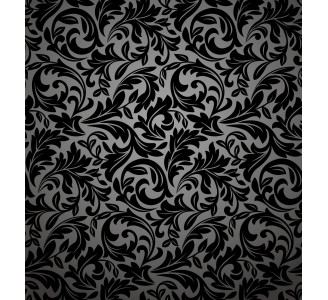Baroque Leaves Theme Removable Wallpaper pattern