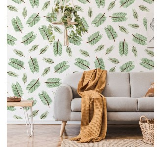 Coniferous Branches Removable Wallpaper