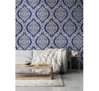 Eastern Arabesque Removable Wallpaper full view