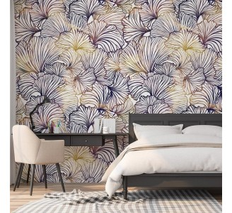 Ginkgo Leaves Removable Wallpaper