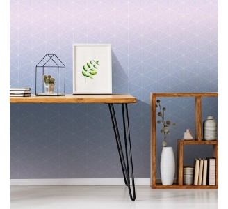 Hexagon Shapes Removable Wallpaper