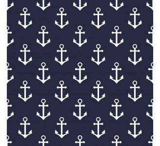 Marine Anchor Removable Wallpaper pattern