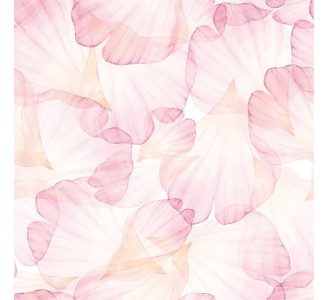 Pink Rose Petals Removable Wallpaper pattern
