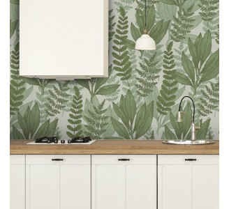 Wild Plants Removable Wallpaper