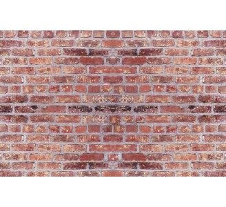 Red Brick Removable Wallpaper pattern