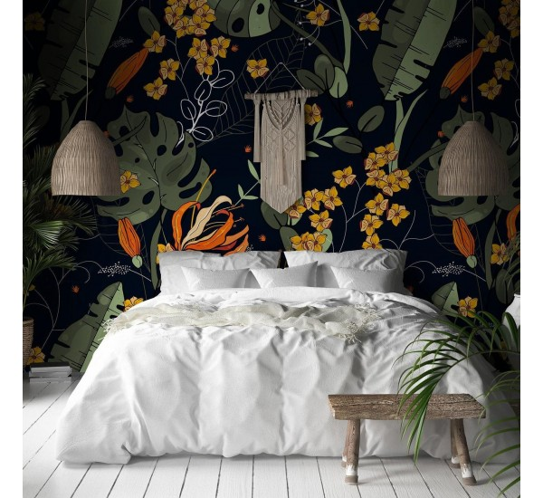 Wild and Exotic Removable Wallpaper