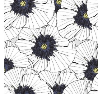 Lovely Hibiscus Removable Wallpaper pattern
