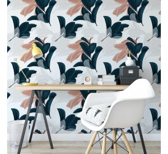 Guava Leaves Removable Wallpaper