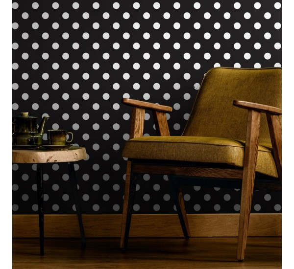 Classic Polka Dots Removable Wallpaper