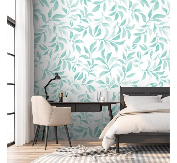 Leafs and Branches Removable Wallpaper