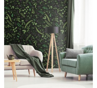 Dark Meadow Removable Wallpaper