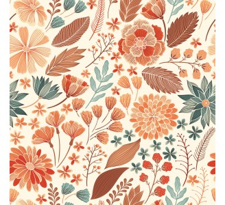 Brown Autumn Removable Wallpaper pattern