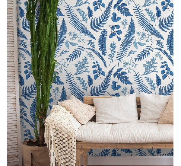 Blue Forest Removable Wallpaper