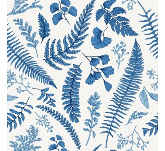 Blue Forest Removable Wallpaper pattern