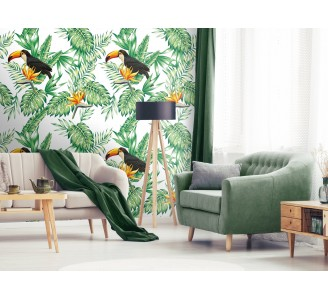 Toucan Nature Removable Wallpaper full view
