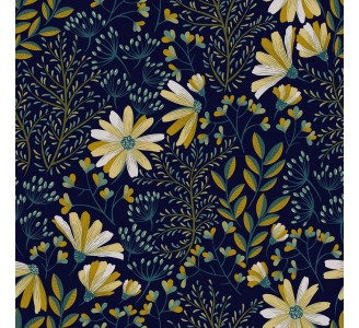 Dark Colorful Nature Removable Wallpaper pattern