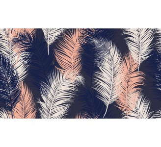 Soft Feathers Removable Wallpaper pattern