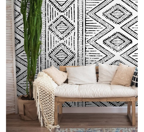 African Ethnic Removable Wallpaper