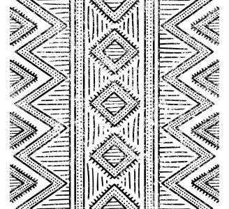 African Ethnic Removable Wallpaper pattern