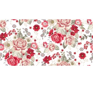 Pale Roses Removable Wallpaper pattern