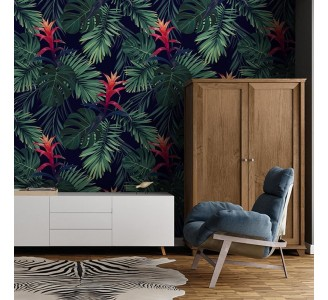 Wild Jungle Removable Wallpaper