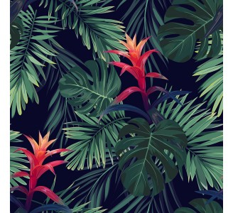 Wild Jungle Removable Wallpaper pattern