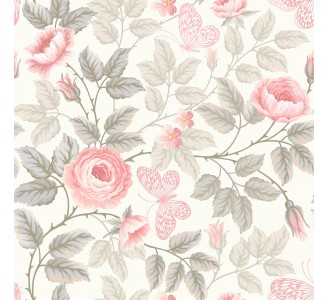 Soft Roses Removable Wallpaper pattern